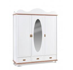 Capri kledingkast 3 deurs kinderkamer