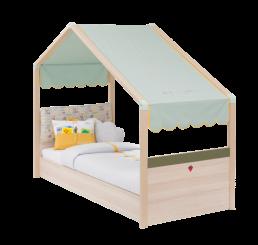 Montes peuterbed bedhuisje babykamer 180 x 80 cm