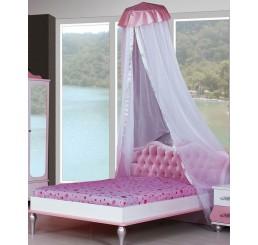 Prinses Roze muskietennet / klamboe prinsessenbed