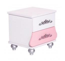 Prinses Roze kindernachtkastje meisjeskamer