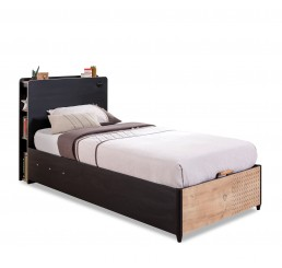New York boxspring tienerbed opbergbed tienerkamer 200 x 100
