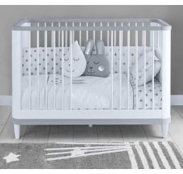 Novi ledikant babybed babykamer 130 x 70 cm