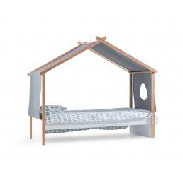 Oslo bedhuisje wit kinderbed Scandinavische kinderkamer 200 x 90 cm