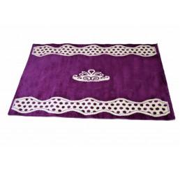 Prinses Paars tapijt vloerkleed prinsessenkamer