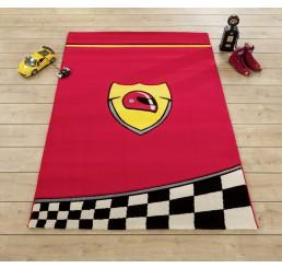 Champion racer tapijt autokamer