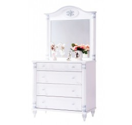 Romantic baby commode kinderladekast babykamer
