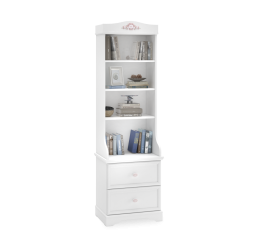 Rustic boekenkast kast wit meisjeskamer