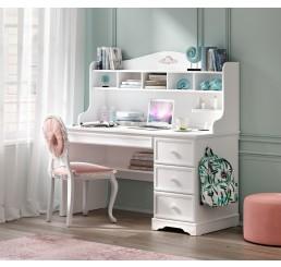 Rustic bureau wit compleet meisjeskamer