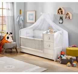 Sachsa kinderbed meegroeibed babykamer