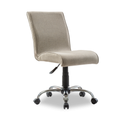 Soft stoel bureaustoel beige kinderkamer