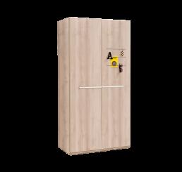 Toscane 2-deurs kledingkast tienerkamer