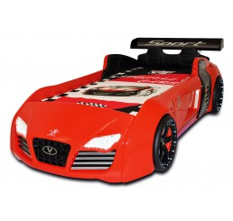 Autobed V8 Sport Rood | Showroommodel
