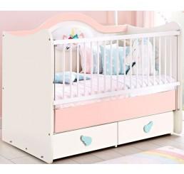 Unicorn ledikant babybed babykamer