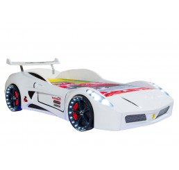 Autobed / Racebed V7 Turbo | wit   kinderbed