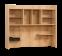 Stockholm bovendeel, groot bureau jongens, groot bureau meisjes, groot bureau houtkleurig, complete slaapkamer