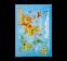 Wereldkaart vloerkleed tapijt kinderkamer, speelkleed meisjeskamer, accessoires jongenskamer
