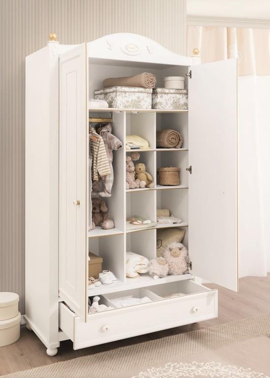 demy baby kledingkast 2 deurs babykamer specialist in kinderkamers, Deco ideeën