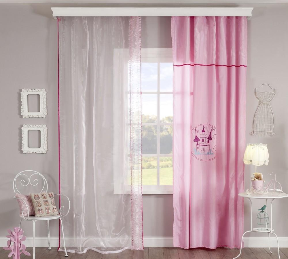 Roze gordijn meisjeskamer kinderkamer Sweety Specialist in ...