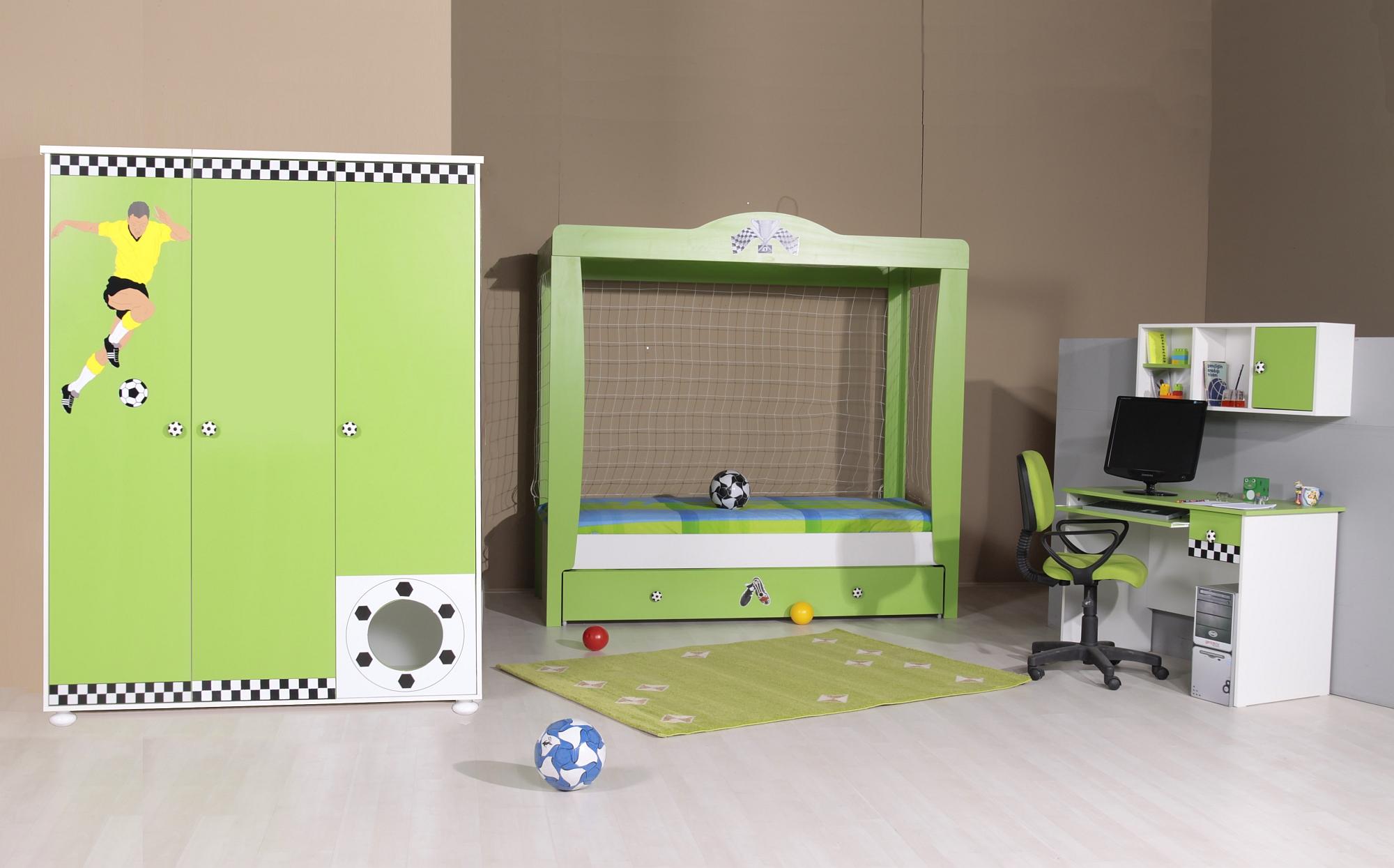 Voetbalkamer Pro Soccer 4delig Specialist in kinderkamers en slaapkamers